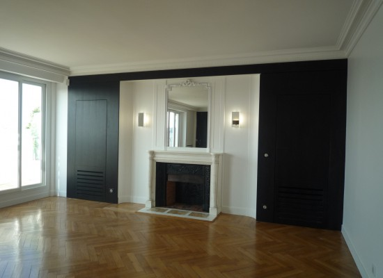 Restructuration appartement - Paris 16e